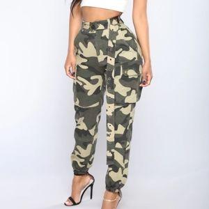 Fashion nova army pants
